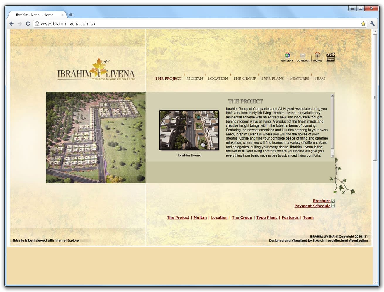 ibrahim website | Pixarch