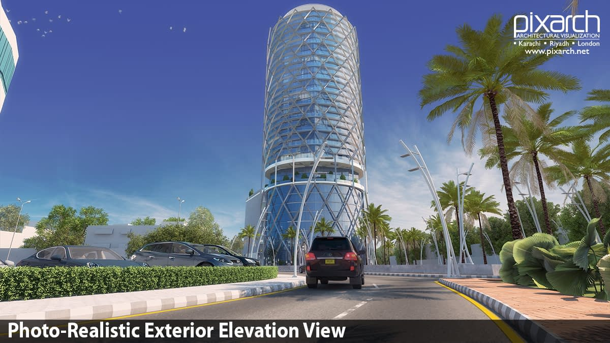 Photo-Realistic-Exterior-Elevation-View