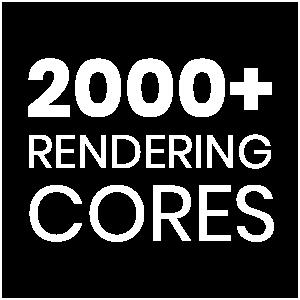 2000+ rendering cores