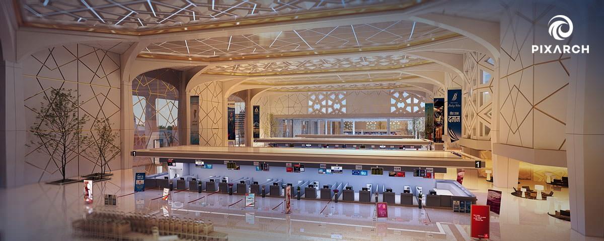 king fahad international airport road | Pixarch