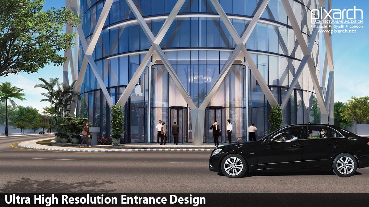 Ultra-High-Resolution-Entrance-Design